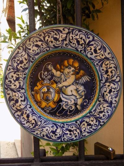 piatto ceramica 9